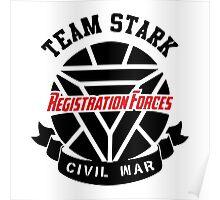 Registration Forces Team Stark Poster