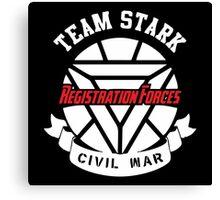 Registration Forces Team Stark Canvas Print