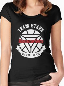 Registration Forces Team Stark Women's Fitted Scoop T-Shirt