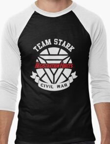 Registration Forces Team Stark Men's Baseball ¾ T-Shirt