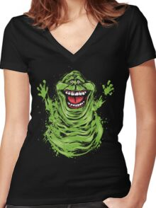 Pure Ectoplasm Women's Fitted V-Neck T-Shirt