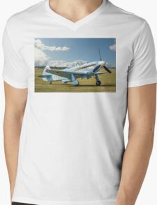 New-build Yakovlev Yak-3UA D-FJAK Mens V-Neck T-Shirt