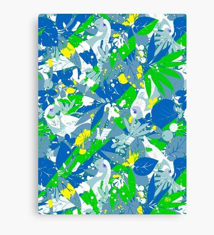 Brazil Splash Pepe Psyche Canvas Print