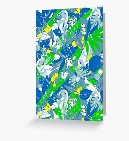 Brazil Splash Pepe Psyche Greeting Card