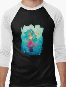The Mermaid Men's Baseball ¾ T-Shirt