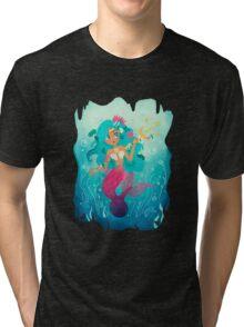 The Mermaid Tri-blend T-Shirt