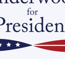 Vote Underwood. Sticker