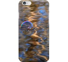 Water reflections & bubble iPhone Case/Skin