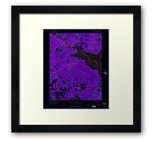 USGS TOPO Map New Jersey NJ Green Bank 254426 1956 24000 Inverted Framed Print
