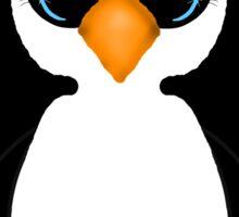 Cute Penguin Girl Sticker