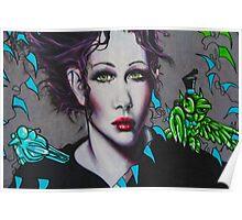 Graffiti Women Poster