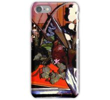 """Autumn in Red Metal Tub""© iPhone Case/Skin"