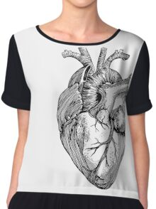 Coeur Anatomique Chiffon Top