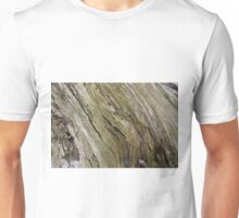Old wood cross section. Unisex T-Shirt