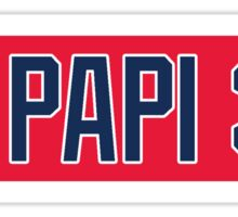 Red Sox Big Papi 34 Sticker