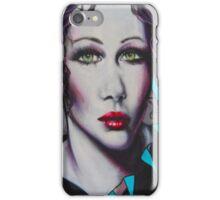 Graffiti Women iPhone Case/Skin