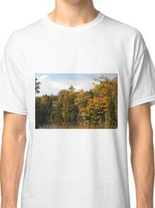 Early Fall Season around the lake. Classic T-Shirt