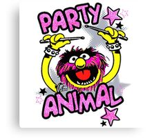 Party Animal Cookies Canvas Print