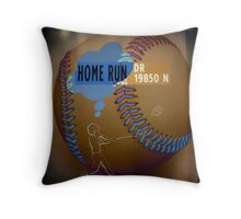 Home Run Drive Throw Pillow