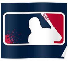 Negan Major League Poster