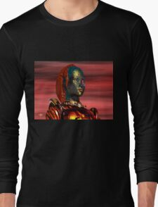 ARES CYBORG FROM HYPERION WORLD Sci-Fi Movie Long Sleeve T-Shirt