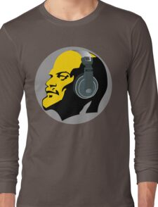 Lenin with Headphones Long Sleeve T-Shirt