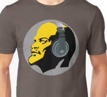Lenin with Headphones Unisex T-Shirt