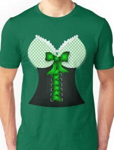 St patricks day vintage Irish traditional leprechaun corset  Unisex T-Shirt