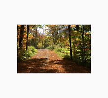 Fall mountain forest road.  Unisex T-Shirt
