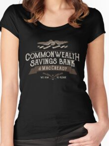 Commonwealth Savings Bank of MacCready Women's Fitted Scoop T-Shirt