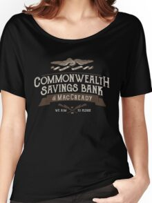 Commonwealth Savings Bank of MacCready Women's Relaxed Fit T-Shirt