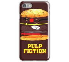 Pulp Fiction Burger iPhone Case/Skin