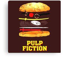Pulp Fiction Burger Canvas Print