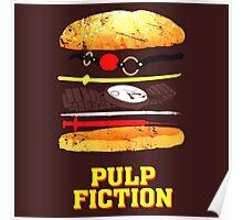 Pulp Fiction Burger Poster