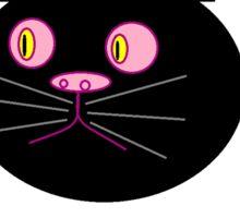 Bored cat Sticker