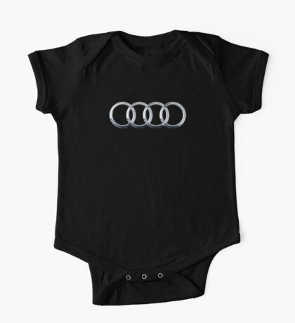 Audi logo  One Piece - Short Sleeve