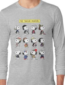 Snoopy Doctors Collage Long Sleeve T-Shirt