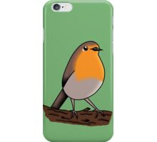 Cute European robin iPhone Case/Skin