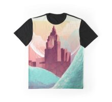 Red Temple Graphic T-Shirt