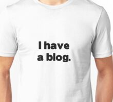 Check out my blog Unisex T-Shirt