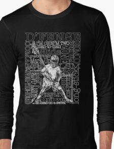 Word Montage-D'FENSE (border) Long Sleeve T-Shirt