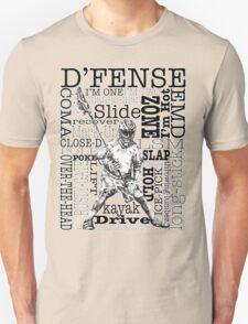Word Montage-D'FENSE (border) Unisex T-Shirt