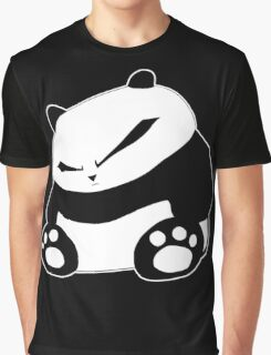 Angry Panda Graphic T-Shirt