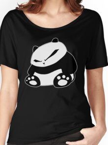 Angry Panda Women's Relaxed Fit T-Shirt