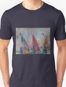 Wind Surfing Race Unisex T-Shirt
