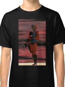 ARES CYBORG FROM HYPERION WORLD Sci-Fi Movie Classic T-Shirt
