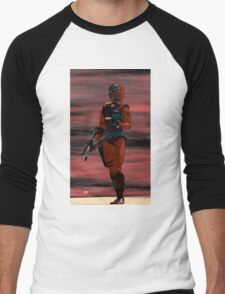 ARES CYBORG FROM HYPERION WORLD Sci-Fi Movie Men's Baseball ¾ T-Shirt