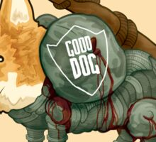 Good Dog! w/ Sword by Devon Baker Sticker