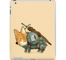 Good Dog! w/ Sword by Devon Baker iPad Case/Skin