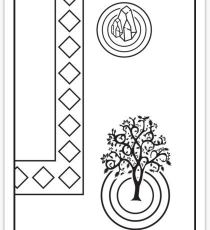 Zen Garden Sticker